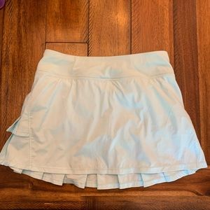 Ivivva lululemon minty blue skirt size 14